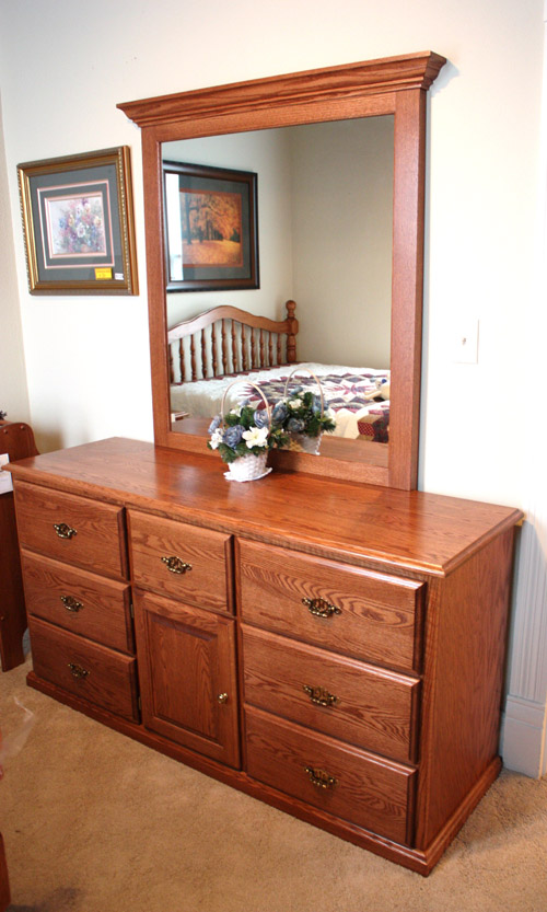 shown here in oak with fruitwood stain